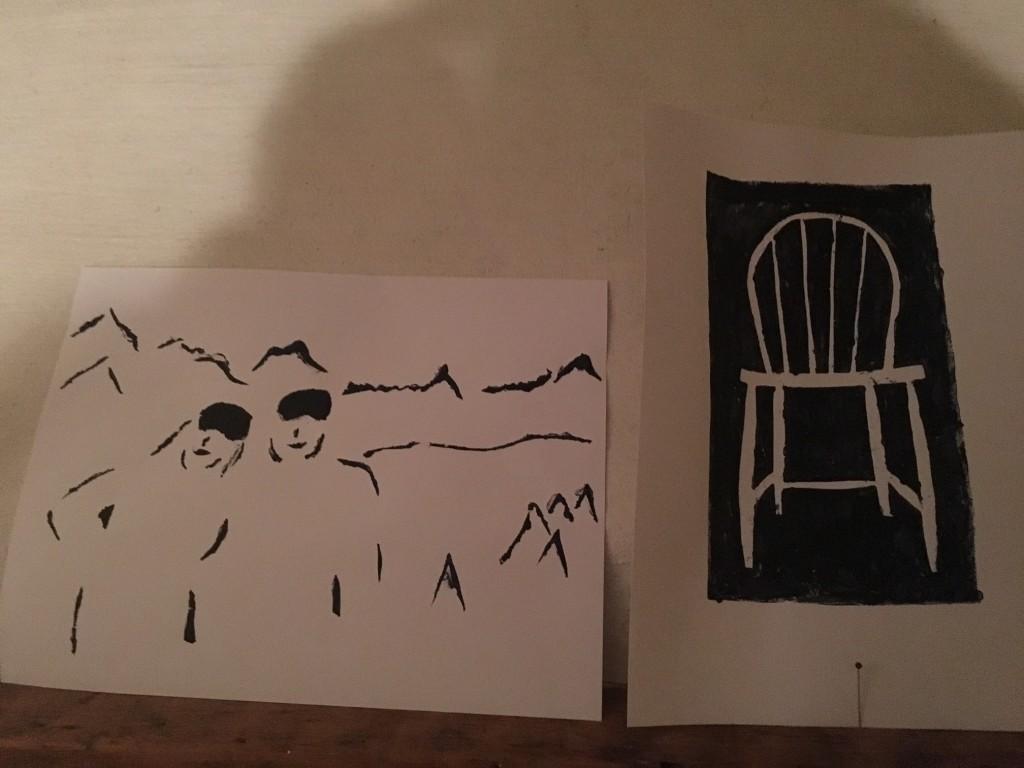 """Hellre än bra är nåt som passar på min """"konst"""". Känner nån igen stolen?"""