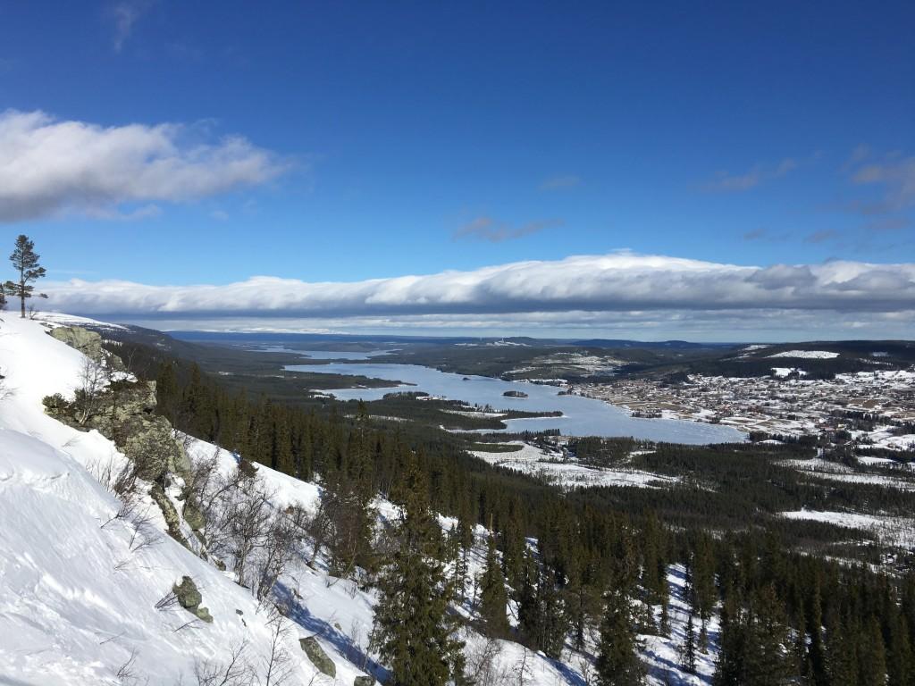 Utiskt över Klövsjö och vårt nya hem