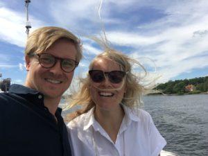 Båttransport i Stockholm
