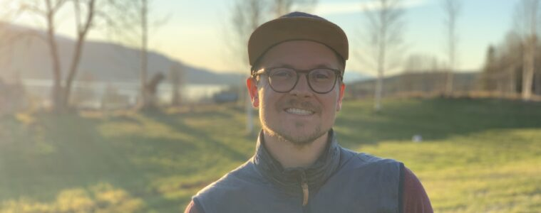 Marcus Ståhl på Fjällbyrån i Klövsjö